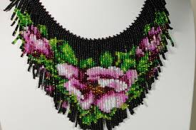 necklace beaded pattern images Free pattern for necklace levona beaded patterns at awwake me jpg