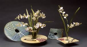 ikebana vase silver ridge pottery ikebana vases