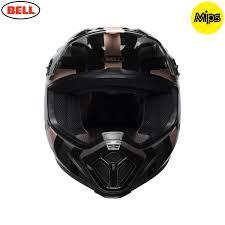 bell motocross helmet 2018 bell mx 9 mips helmet marauder copper black
