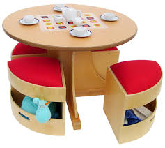 Armchair Tidy This Modern Birch Table Comes With 4 Tidy Stools Which Offer