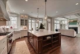 Kitchen Family Room Design Photo On Fancy Home Designing Styles - Kitchen and family room