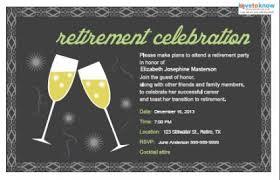 retirement invitations retirement party invitations