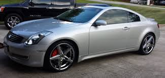 nissan altima coupe on 22 s infiniti g35 wheels and g37 wheels and tires 18 19 20 22 24 inch