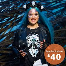 Skeleton Costume Skeleton Costume Set Claire U0027s