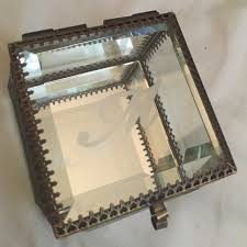 jewelry box 50 50 miller other miller m mirrored glass