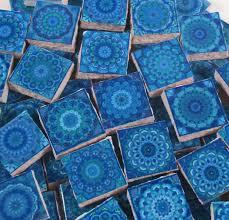 ceramic mosaic tiles moroccan tile design blue moroccan