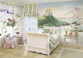 white unicorn merry go round large removable mural is the ideal