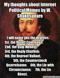 Memes About Internet - thoughts about internet political memes by w shakespeare