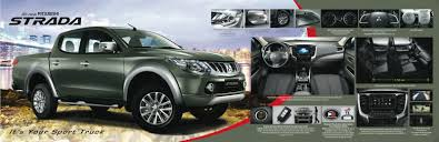 mitsubishi adventure modified the all new 2015 mitsubishi strada is here w full brochure