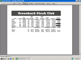microsoft excel spreadsheet blue section project ppt download