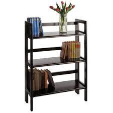 4 tier folding bookshelf the shelving store