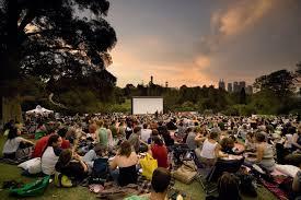 Botanical Gardens Open Air Cinema The Royal Botanical Gardens Melbourne