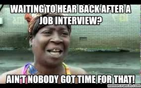 Job Interview Meme - interview meme