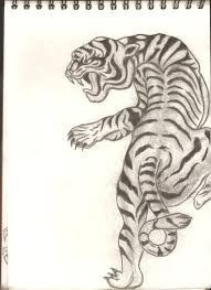japanese style classic japanese style tiger by dbz fanatic1 on deviantart