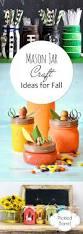 mason jar craft ideas for fall pickled barrel