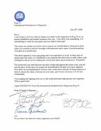Letter Of Commendation Spellman Magic Accolades