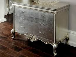 Silver Leaf Nightstand Silver Leaf Bedroom Sets Video And Photos Madlonsbigbear Com