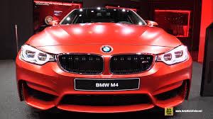 red bmw m4 2016 bmw m4 exterior and interior walkaround 2015 frankfurt