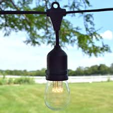 Led Patio Lights String by Led Suspended Vintage String Lights