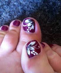 best 25 flower toe nails ideas on pinterest flower toe designs