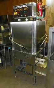 Cma 180 Dishwasher Manual Pass Through Pete U0027s Restaurant Equipment