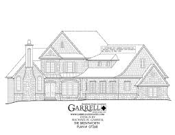 traditional craftsman house plans brentworth house plan house plans by garrell associates inc