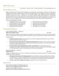 Resume For Teachers Example by Secondary Teacher Resume Example Resume Examples