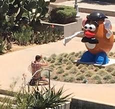 Potato Head Kit Disguise Man Praying Giant Potato Head Http Ift Tt 2tfrabw