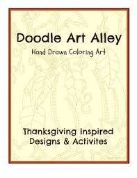 thanksgiving activity book by doodle alley tpt