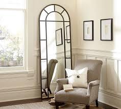 Ideas Design For Arched Window Mirror Distiller Metal Arch Floor Mirror Pottery Barn