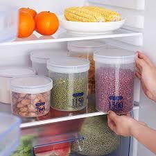 plastique cuisine en plastique scellé boîtes boîte de rangement de cuisine