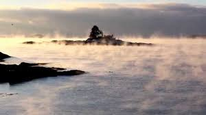 this morning u0027s inspiration with sea smoke at ocean point maine