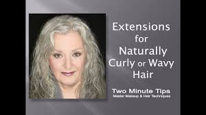 make up tips for salt and pepper hair extensions for natural curly or wavy gray hair d youtube