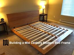 diy bed frame plans how to make a with pete magnificent birdcages