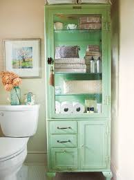 Bathroom Towel Cabinet Bathroom Shelves Bathroom Towel Storage Ideas Green Cabinet For