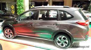 honda br v production spec honda br v rear three quarter snapped indian