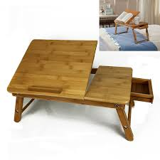 lap tables for eating wooden adjustable height and angle lap desk perfect for working or