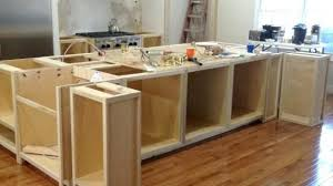 kitchen island from cabinets how to build a kitchen island with cabinets make roll away hgtv