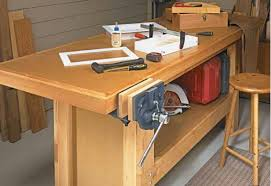 Simple Work Bench A Workbench To Last A Lifetime Begin Woodworking