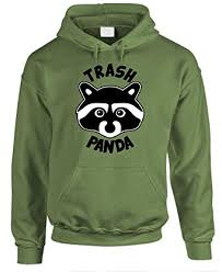 Funny Raccoon Meme - com trash panda funny raccoon meme humor mens pullover
