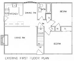 second floor plans home add a second floor cap04 5179 the house designers modern home plans