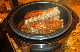 taste of hawaii bbq pork ribs cooked in pressure cooker