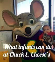 mousetrap on pizza parties and what infants can do at chuck e