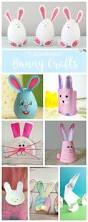Easter Decorations For The Classroom by Bunny Crafts For Kids A Cute Bunny Rabbit Out Of A Paper Roll