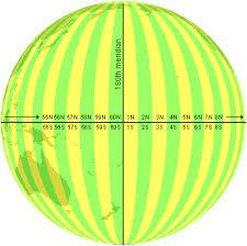 utm zone map universal transverse mercator and universal polar coordinate systems
