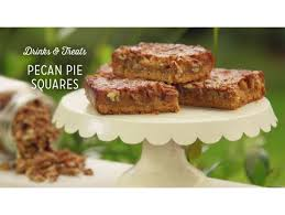 pecan pie squares recipe pecan pies pecans and pies