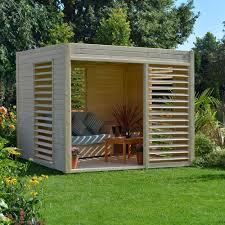 rowlinson carmen natural pavilion wooden pavilion gardens and
