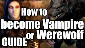 Elder Scrolls Online Memes - eso how to become vire werewolf elder scrolls online youtube