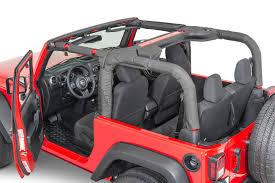 red jeep 2 door dirtydog 4x4 roll bar covers for 07 17 jeep wrangler jk 2 door