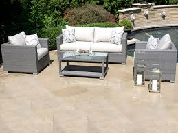 Rattan Patio Furniture Sale by Gray Outdoor Patio Set Patio Gray Wicker Patio Furniture Grey